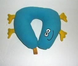 "Go Kids Plush Travel Neck Pillow Blue Yellow 8"" - $9.79"