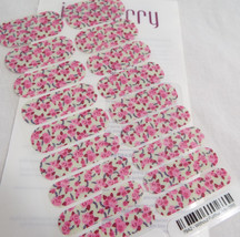 Jamberry Without Further Ado 0916 79A2 Nail Wrap Full Sheet - $15.14