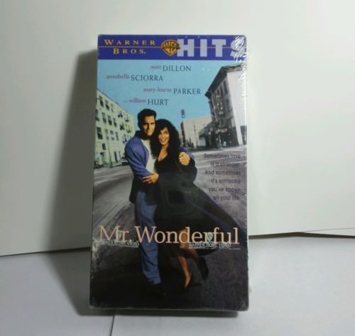 Collectible Vintage movie Mr. Wonderful (VHS, 1994) Still in shrink wrap