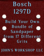 Build Your Own Bundle Bosch 1297D 1/4 Sheet No-Slip Sandpaper 17 Grits - $0.99