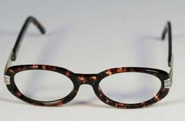 Fossil Unisex REBECCA Tortoise Shell Plastic Eyeglass Frames Designer Rx Eyewear - $9.12