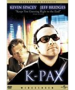 K-Pax (DVD, 2002, Collectors Edition) - $7.50