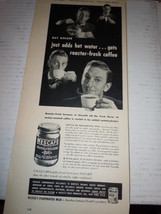Vintage Nescafe Instant Coffee Print Magazine Advertisement 1946 - $4.99
