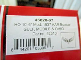 "Intermountain # 45828 Gulf, Mobile & Ohio Modified 10'6"" Door Boxcar HO Scale image 4"