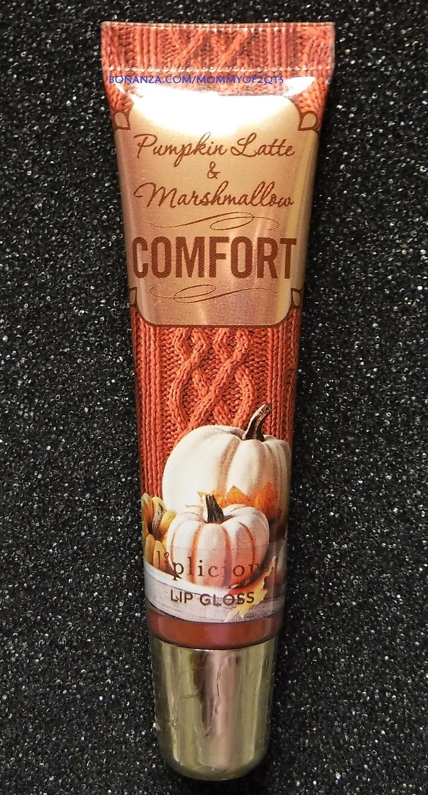 Bbw lip pumpkin latte marshmallow with bonz text