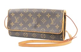 Authentic LOUIS VUITTON Twin GM Monogram Pochette Clutch Shoulder Bag #3... - $502.84 CAD
