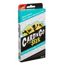 Mattel Games Card 'N' Go Seek Family Scavenger Hunt Card Game 150 Cards - $11.34