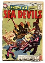 SHOWCASE COMICS #27-SEA DEVILS-RUSS HEATH ART-Grey Tone-bargain copy - $94.58
