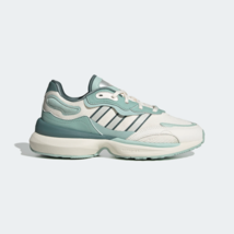 adidas Originals Womens Zentic Comfort Shoes White and Green - $102.57