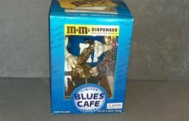 M&M's Blues Cafe Saxophone Candy Dispenser [w/ Box] UNUSED! - $12.00