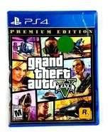 Grand Theft Auto V GTA 5 Premium Edition - PS4  NEW FACTORY SEALED  - $23.75