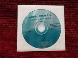 HP PHOTOSMART 215 CAMERA SOFTWARE  - $9.99