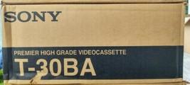 Sony Premier High Grade Video Cassette T-30BA Box Of 10 Brand New - $19.99