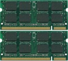 NEW! 2GB 2X1GB DDR2 PC2-5300 667Mhz Laptop SODIMM Memory 200pin PC5300S NON-ECC