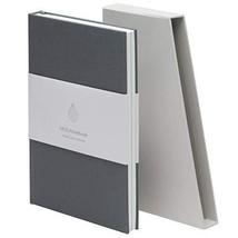 MOO Lined Hardcover Notebook - Premium Grey Lay Flat Journal - Medium-si... - $24.74