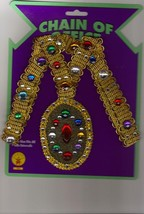 Medieval or Renaissance Faux Jeweled Chain of Office - $18.00