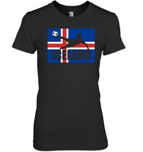 ICELAND Soccer T shirt 2016 Icelandic Football Team Jersey - $19.99+
