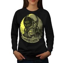 Need Music Space Fashion Jumper  Women Sweatshirt - $18.99
