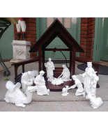 Lenox The Nativity Boxes 13 Pc Holy Family 3 Kings Animals Creche Porcel... - $683.99
