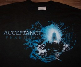 ACCEPTANCE Phantoms BAND T-Shirt YOUTH LARGE 14-16 NEW - $17.33