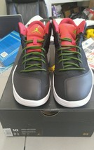 Nike Air Jordan New School Black Green Pulse Gym Red 768901-013 8-14 ret... - $77.52