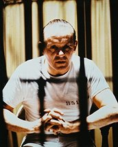 Anthony Hopkins In The Silence Of The Lambsbehind Bars 16x20 Canvas Giclee - $69.99