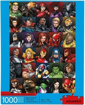 Marvel Heroes Collage 1000 Piece Jigsaw Puzzle [imported]. - $47.11