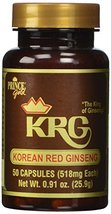 Prince of Peace Korean Red Ginseng Capsules, 50 Count - $14.85