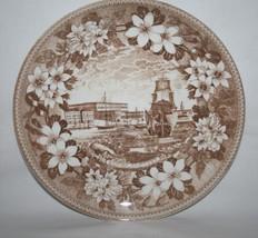 """Gustavsberg Sweden Benporslin Kungl Slottet The Royal Palace 9.5"""" Plate ... - $40.00"""