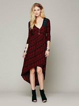 Free People Lelani Hi Lo Wrap Dress New Romantics S Small Distressed - $31.49