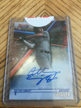 2018 Bowman's Best Anthony Seigler Auto Sealed - $9.90