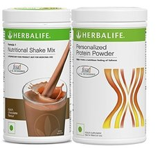 Herbalife Formula1 Chocolate 500gm Personalized Protein Powder 400Gm Wei... - $56.99