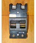 GTE / SYLVANIA / COMMANDER 200 AMP 2 POLE MAIN TYPE QFP CIRCUIT BREAKER ... - $249.99
