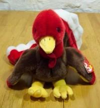 Ty Beanie Buddy Gobbles Turkey Plush Stuffed Animal New - $15.35