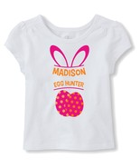 Personalized Easter Egg Hunt Iron-Ons - Egg Hunt T-Shirt Transfers - $3.00+