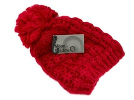 Red Moon Shadow Women's Lined Winter Knit Hat Retail is $17.99 - $5.95