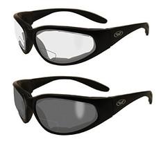 2 Pairs - 2.0 Bifocal Global Vision Eyewear Hercules Anti-fog Safety Gla... - $55.88