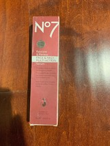 Boots No7 Restore and Renew Face & Neck Serum 1.69 Oz 50 mL Box Wears - $21.63