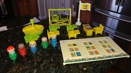 VTG Fisher Price Little People Miscellaneous School Replacement Parts 92... - $59.95