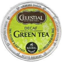 Celestial Seasonings Decaf Green Tea, 72 K cups, FREE SHIPPING Keurig Kcup - $52.99
