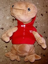 "ET Plush Red Hoodie 9"" Alien Stuffed Universal Studios Extra Terrestrial Toy - $29.69"