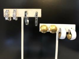 4 Pair Of Vintage Clip On Earrings - $5.00