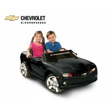 Kids Battery Operated Official NPL Chevrolet Racing Camaro 12 Volt Ride On Car image 5