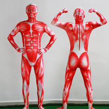Attack on Titan Bodysuit Lycra Spandex Zentai Catsuit Cosplay Costume - $61.76