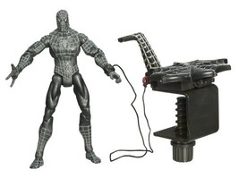 Spiderman Classic Trilogy Heroes Action Figures - Black Suited Spiderman 2 - $63.70