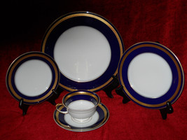 Rosenthal Eminence cobalt 5 piece place setting - $98.95