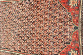 EXCEPTIONAL ANTIQUE PERSIAN QASHQAI PAISLEY DESIGN RUG , ONE OF A KIND - $957.64