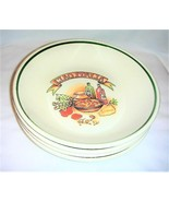 Over and Back Ciao Italia Vintage Pasta Individual Serving Bowls Set of 4 - $50.00