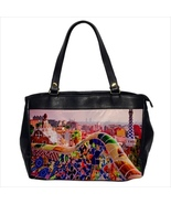 Oversize office lady bag park guell barcelona - $50.00