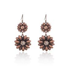 Bohemian boho acrylic beads tassel earrings for women&girls new water dr... - $7.53